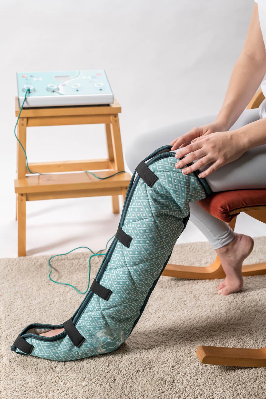 Magneetveldtherapie behandeling onderbeen