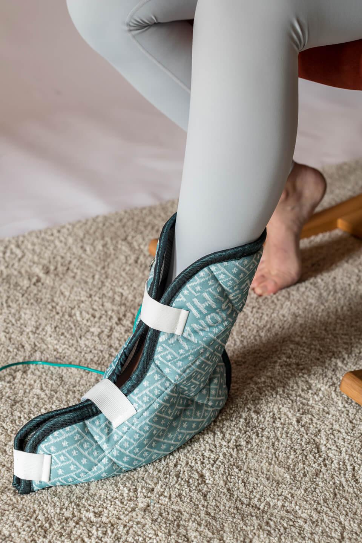 Magneetveldtherapie behandeling voet