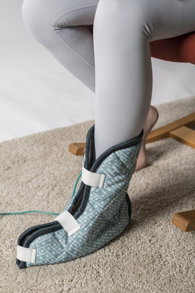 hulpstuk magneetveldtherapie behandeling artrose voet